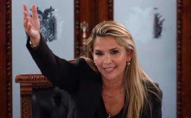 Áñez asumió hace unos días la presidencia de forma transitoria en el país
