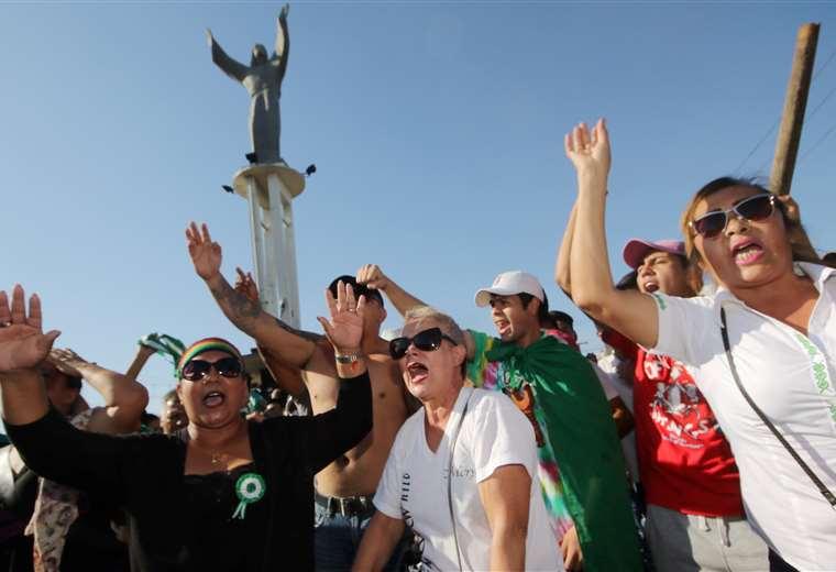 La concentración se realizará en el Cristo Redentor. Foto: Rolando Villegas