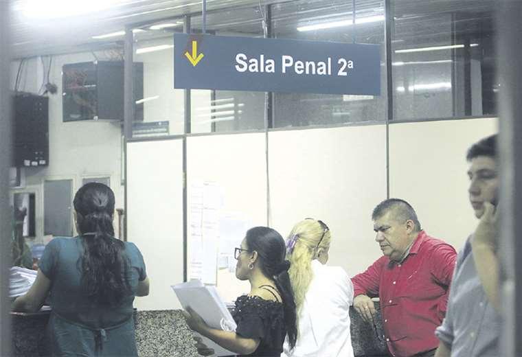La oficina del vocal Morón fue registrada por la Fiscalía y la Policía. Foto: JORGE IBÁÑEZ