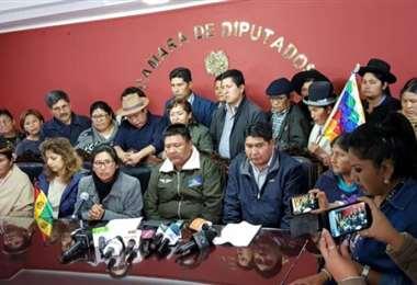 La sesión fue convocada por los asambleístas del MAS I Foto: archivo.