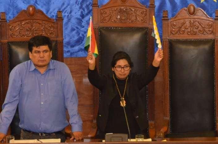 La titular de la Cámara Alta I Foto: Senado.