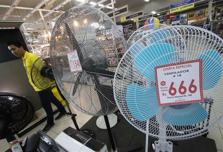 El consumo de energía se incrementa con las altas temperaturas