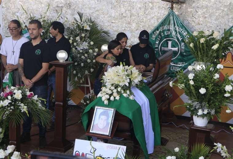 Marcelo Terrazas es una de las víctimas de los enfrentamientos en Montero. Foto: APG