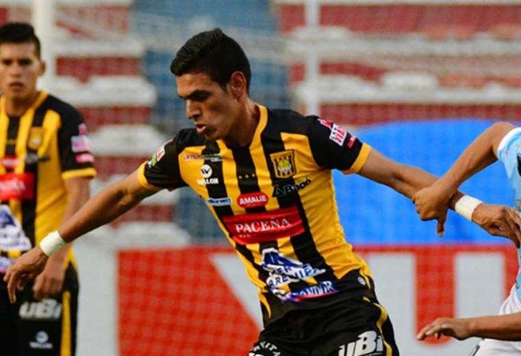 Richet Gómez, jugador de The Strongest. Foto: APG