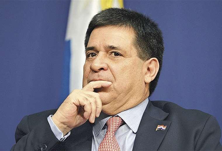 Horacio Cartes fue presidente hasta 2018. Ahora es acusado