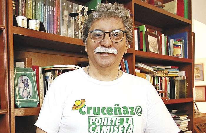 Carvalho estuvo activo en las protestas en contra del fraude. Foto: JORGE GUTIÉRREZ