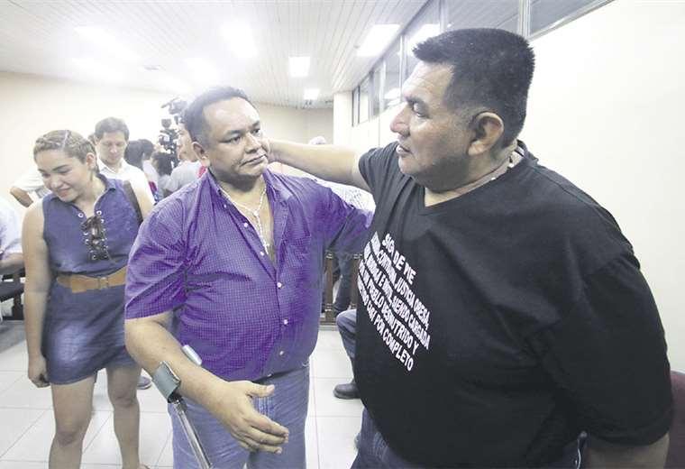 Los detuvieron en mayo de 2009 y los liberaron, pero los volvieron a apresar por 9 años y 8 meses. Foto: Jorge Ibáñez