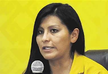 Soledad Chapetón, alcaldesa de El Alto, recibía amenazas