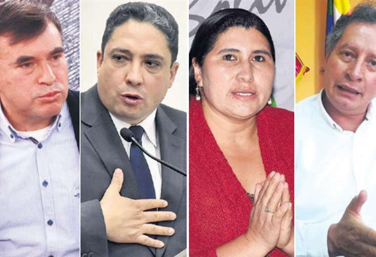 Los exministros Juan Ramón Quintana, Héctor Arce, Nélida Sifuentes y César Navarro solicitaron asilo político en México. Esperan respuestas