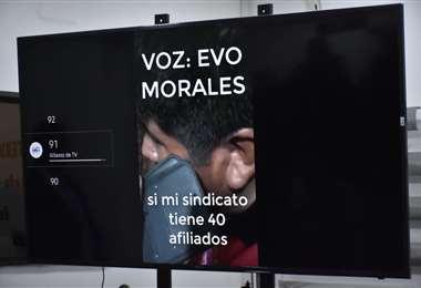 La grabación fue presentada por Murillo I Foto: APG Noticias.