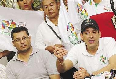 Luis Fernando Camacho, líder cívico, pide acelerar el proceso. Foto: Rolando Villegas