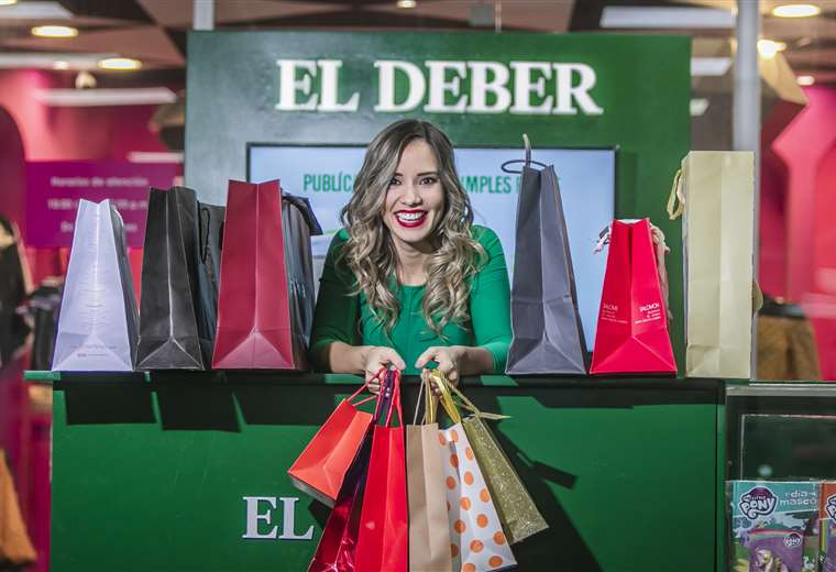 Roxana del Río, imagen del Black Friday Bolivia, presenta los videos promocionales de las marcas