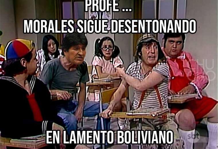 Las palabras de Evo en México inspiraron memes