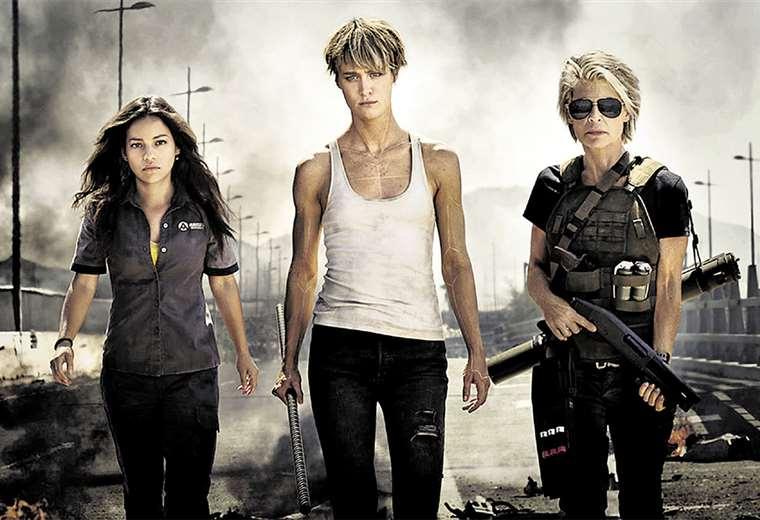 Ellas. Natalia (Dani), Mackenzie (Grace) y Linda (Sarah) protagonizan la nueva película de ficción