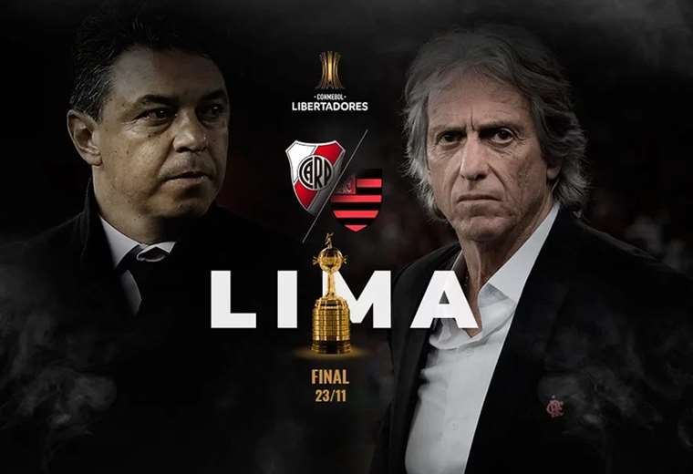 Gallardo y Jorge Jesus van por la Libertadores este sábado. El partido se jugará a partir de las 16:00 hora boliviana.