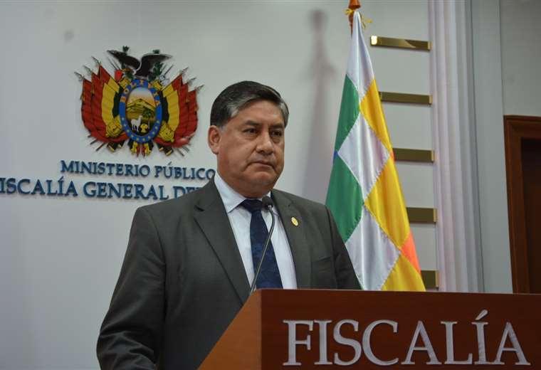 El fiscal general emitió la instructiva el miércoles pasado. Foto: ABI