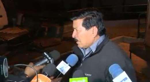García afirmó que los documentos eran llevados a las oficinas del MAS en La Paz