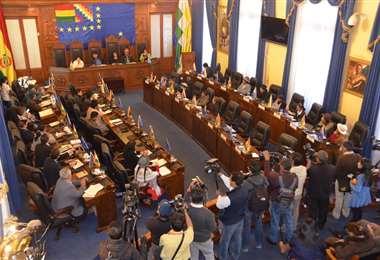 Se espera una pronta convocatoria a sesión en la Cámara Alta I Foto: Senado
