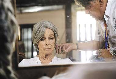 Después del rodaje, Geraldine habló de su reciente interpretación como Clara Luz en la cinta de Richter. Recuerda a su padre y nos adelanta las próximas películas que filmará . Foto: JUAN PABLO RICHTER
