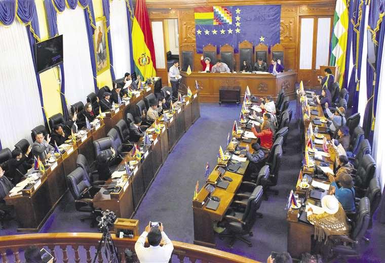 Resultado de imagen para jeanine añez presenta, nueva ley electoral