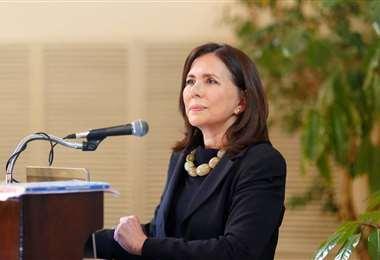 Longaric invitó a la embajadora de México al Ministerio de Relaciones Exteriores para entregarles las cartas
