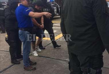 Montenegro fue extraditado este viernes