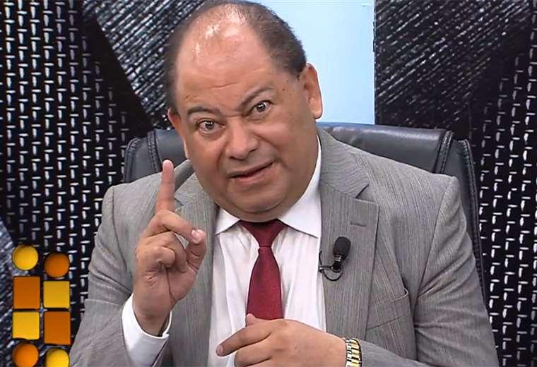 El ministro de Gobierno, Carlos Romero cree que existe presión a la prensa (Foto: captura)