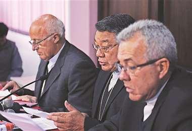 La Conferencia Episcopal Boliviana se defiende de acusaciones.Foto: AFP