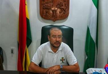 Calvo aseguró que Camacho cumplió con los estatutos. Foto Mauricio Melgar