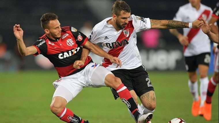 Flamengo y River Plate jugarán una final histórica, ya que será la primera vez que se defina el título en un solo partido a disputarse en un campo neutral. Foto. Internet