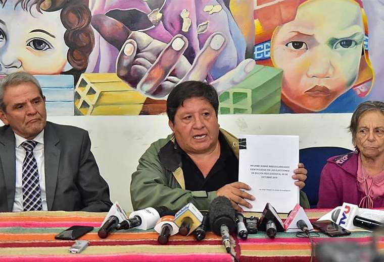 El Conade presentó el informe para al población en conferencia de prensa (APG)