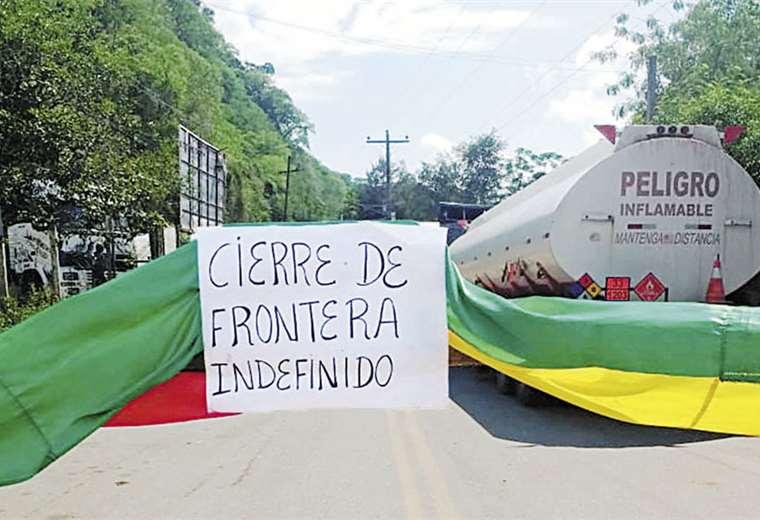 El paso hacia Argentina por la ruta Bermejo-Aguas Blancas fue cerrado
