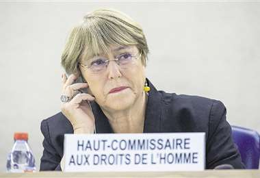 El Gobierno espera visita de Michelle Bachelet para revisar situación de los derechos humanos en Bolivia. Foto: AFP