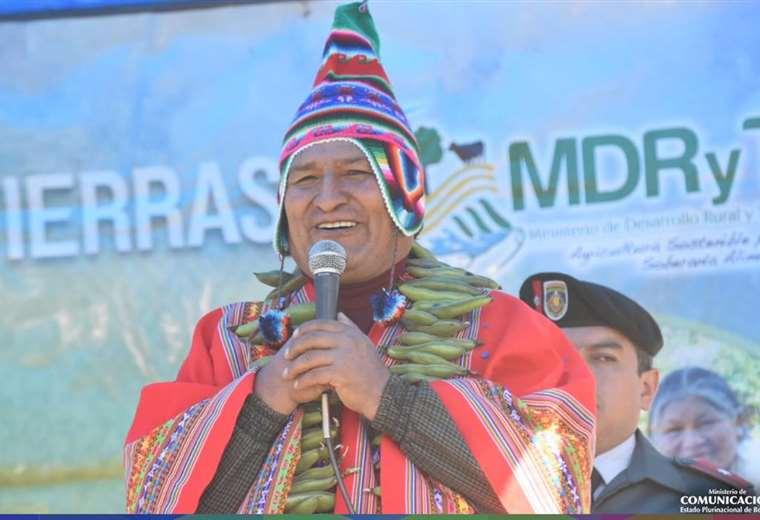 El jefe de Estado incurrió en la falta en la localidad de Cochabamba I Foto: archivo.