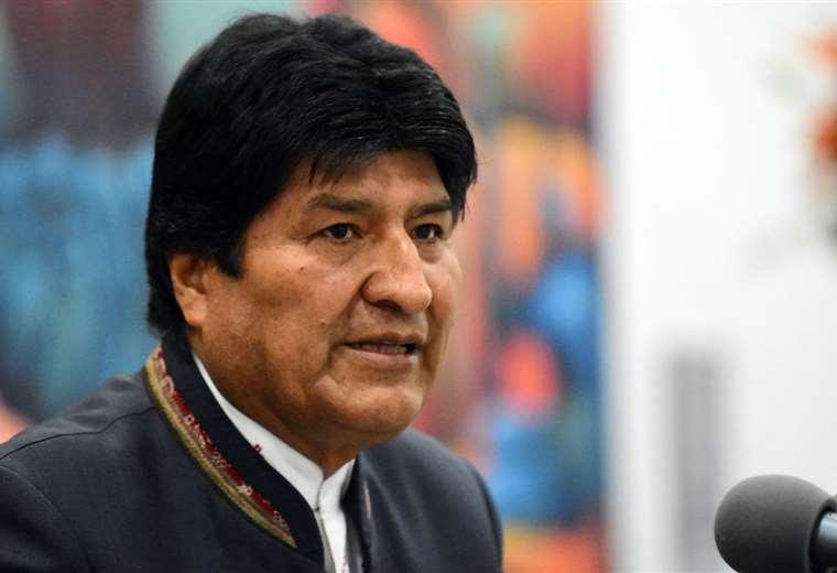 El jefe de Estado ante medios de comunicación I Foto: archivo.