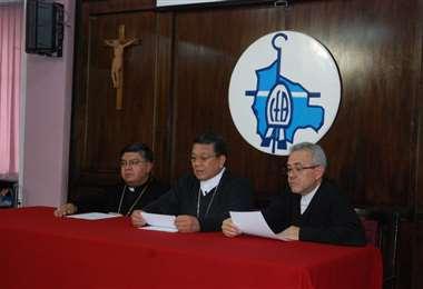 La Iglesia católica se dirigió a las partes en conflicto a buscar una solución.