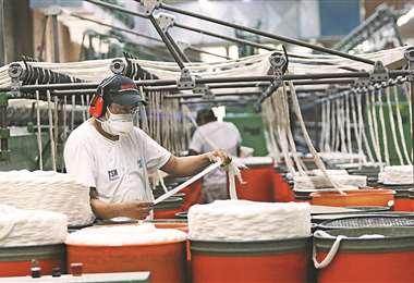 La industria textil busca renovarse y lograr más presencia en el país