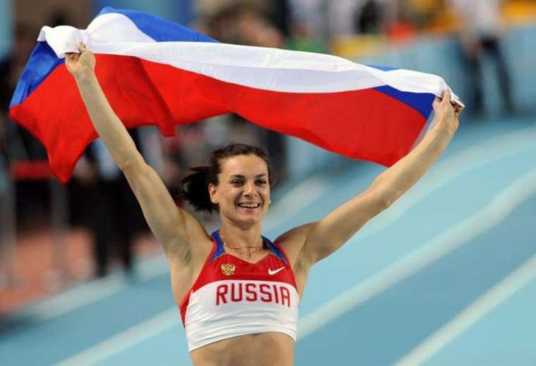 Isinbáyeva fue una de las atletas más exitosas en la historia del deporte ruso. Foto. Internet