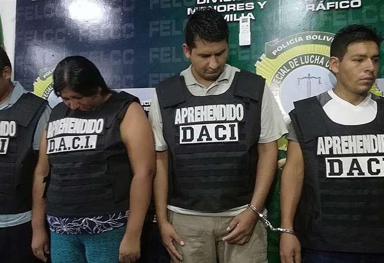 Al menos tres de los secuestadores fueron aprehendidos cuando recibían dinero del rescate. Foto: Juan Delgadillo
