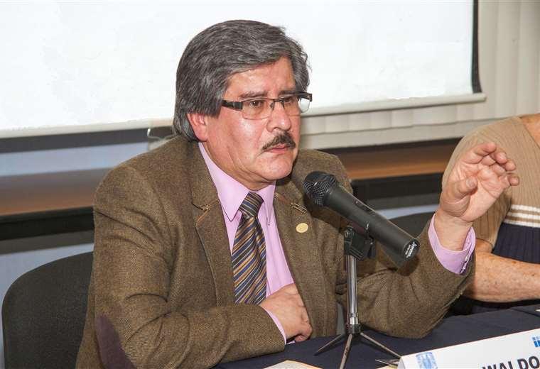 El rector de la UMSA pide que haya candidatos éticos I Foto: archivo.