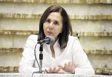 La Cancillería, a la cabeza de Karen Longaric, se pronunció