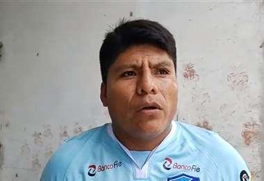 """El dirigente cocalero señala que la población """"se siente segura"""" con la policía sindical. Foto: captura"""