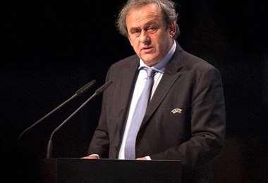 Michel Platini fue presidente de la UEFA entre 2007 y 2015. Foto: Internet