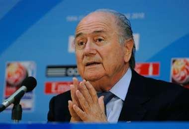 Blatter es investigado por la justicia francesa por corrupción en el fútbol. Foto. Internet
