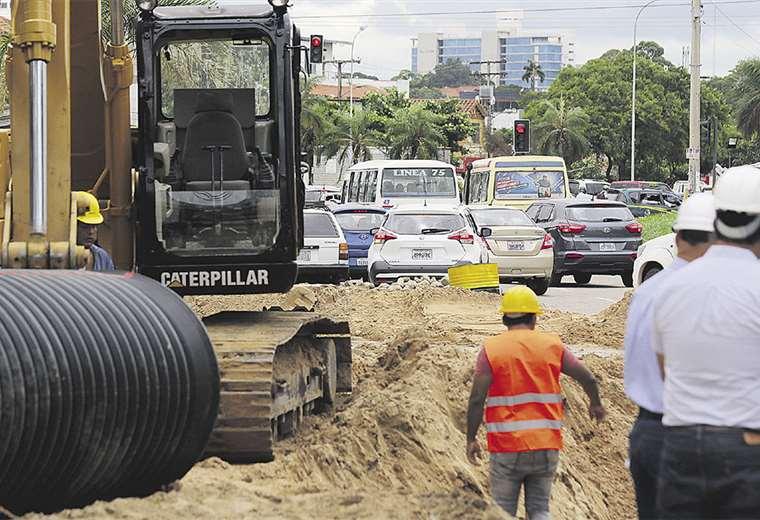 El cambio de la tubería provocará el cierre de la intersección. Foto: Jorge Gutiérrez