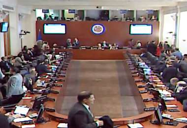 Sesión de la OEA