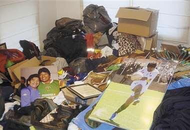 La casa en el barrio de Achumani es la última acción que realizó la Fiscalía que investiga a Evo Morales por el delito de sedición. Foto: APG NOTICIAS