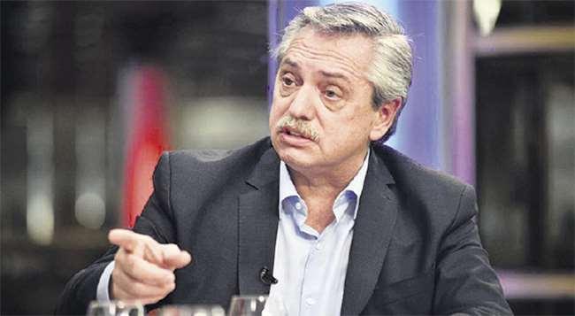 Alberto Fernández asumió el poder. Foto: AFP