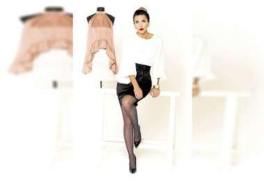 Sencilla. Lisseth afirma que una marca de ropa no garantiza el buen gusto al vestir. Foto: E.MENACHO/ L.MENDIZÁBAL.