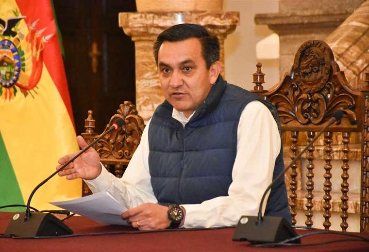 El ministro de la Presidencia, Yerko Núñez | Foto: ABI